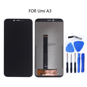 Image 1 - FOR UMI umidigi A3 original LCD touch screen digitizer component repair parts for UMI A3 screen LCD display free shipping