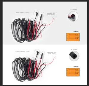 6 M/10 M метр 4PIN/5PIN автомобильный RCA задний вид автомобиля парковочная камера видео удлинитель Кабель 2,5 мм jack