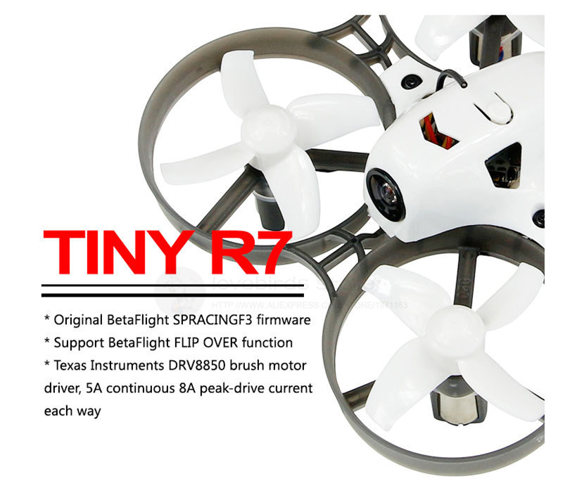 KINGKONG LDARC Tiny R7 indoor FPV brush mini drone with camera , without receiver PNP Basic and Advance combo kingkong force 80 power combo