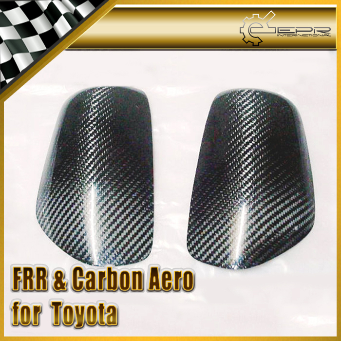 Car Styling For Toyota Starlet EP91 Carbon Fiber Side Mirror Cover fortune auto tercel starlet ep82 ep91 1990 1999 500 street series coilovers