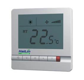 ФОТО Hailin hl108 central air conditioner disk wind temperature controller temperature controlled switch lcd big screen