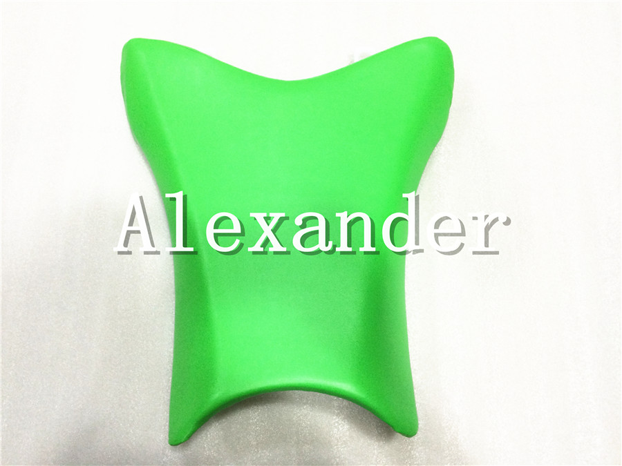 For Kawasaki ZX10R 2011 2012 2013 2014 2015 Green Motorcycle Scooter Front Rider Seat Leather Foam Plastic Cover Cushion ZX-10R