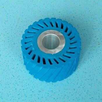 цена на 65*50*20mm Sanding Belt Rubber Wheel with Aluminium Core for Sander Polisher