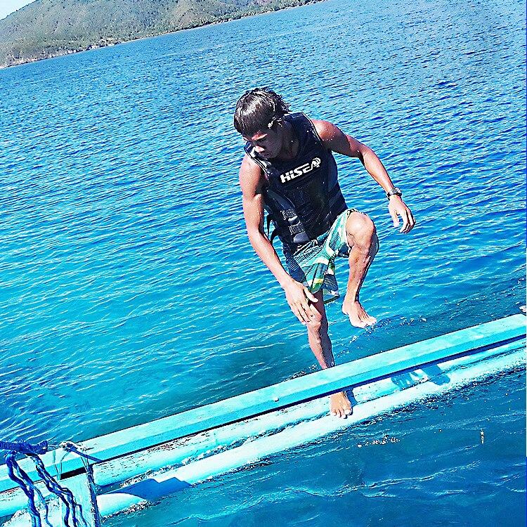 Pulsuz Göndərmə Neylon Surfing Dalğıc Həyatı Kişi Su İdmanı - Su idmanı - Fotoqrafiya 4