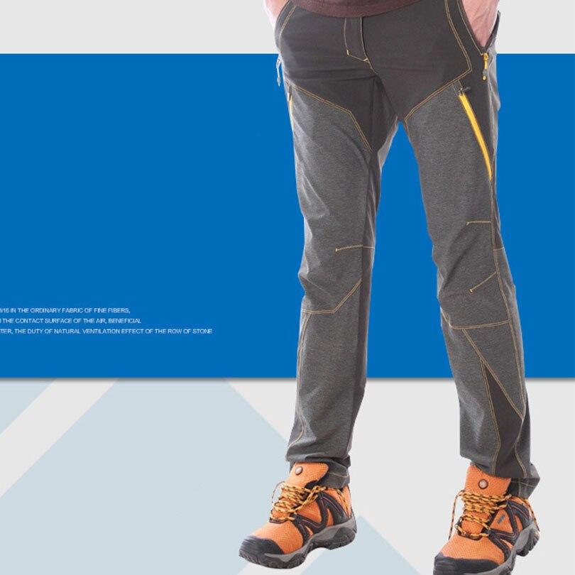 KORAMAN MEN Hiking Pants Outdoor Softshell sports Trousers male Climbing dry summer waterproof pants trekking mountainski 3XL 01 outdoor softshell hiking pants men 5xl 6xl 7xl 8xl waterproof breathable bottoms male trekking sports large size trousers