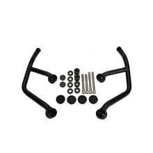 цена на MT-09 FZ 09 MT09 2016 Motor Accessories Front Engine Guard Crash Bars Motorbike Parts for YAMAHA MT 09 FZ-09 2013 2014 2015 2016