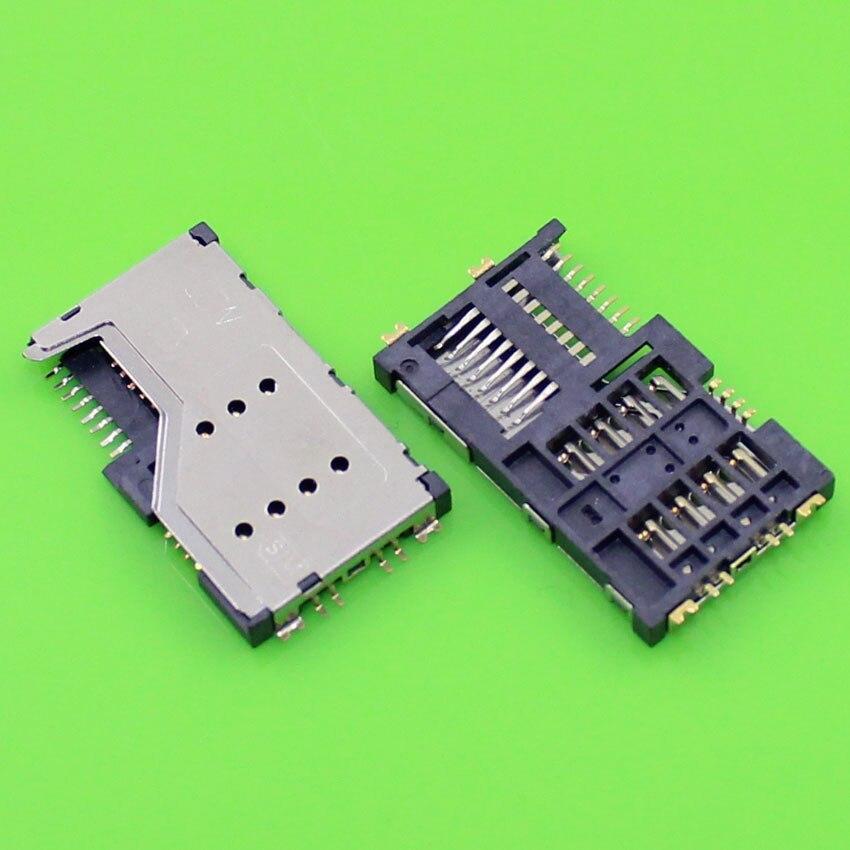 1 Piece,Brand New for Gionee GN200 T3 T5 T7 C100 TD200 W106 W109 2 in 1 sim card holder socket replacement connector.KA-016