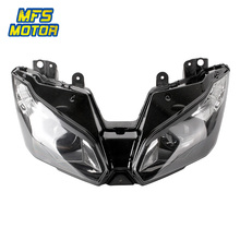 For 13-15 Kawasaki Ninja ZX-6R ZX6R ZX636 ZX 6R Motorcycle Front Headlight Head Light Lamp Headlamp Assembly 2013 2014 2015 цена и фото