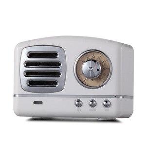 Image 2 - Iskandinav Bluetooth radyo hoparlör Retro Mini taşınabilir kablosuz Bluetooth hoparlör Radyo USB/TF Kart Müzik Çalar Subwoofer dekorasyonumuzu