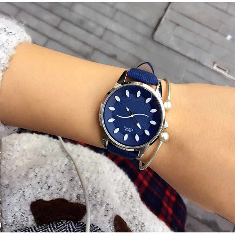 Classic 2019 New Fashion Simple Style Top Famous Luxury brand quartz watch Women casual Leather watches hot Clock Reloj mujeres