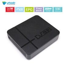 Vmade DVB T2 Digital terrestre Set Top Box Full HD 1080 p HD H.264 MPEG2/4 PVR YouTube DVB sintonizador receptor de TV T2 para Rusia