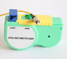 Fiber Connector Cleaning Tool LC/FC/SC/ST Fiber Optic Connector Cleaner