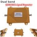 GSM/DCS 900/1800 MHZ Reforço de Sinal de Banda Dupla Reforço Kit para o Telefone Móvel GSM Signal Booster amplificador Repetidor de RF Repetidor