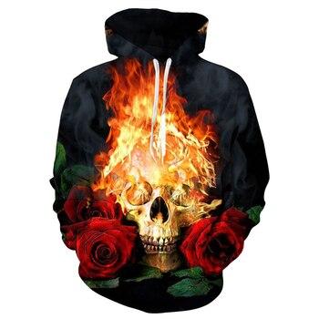 Skull Hoodie 1