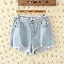4c813dea5707b S64 D été automne Plus La taille vêtements pour Femmes Denim shorts 4X  Casual Taille