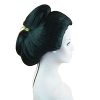 StrongBeauty Japanese Geisha wig Cosplay Wig Synthetic Hair