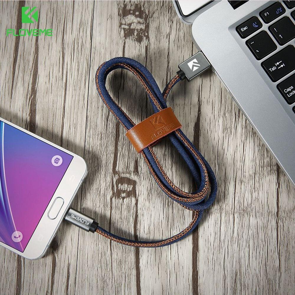 FLOVEME Type C մալուխ Samsung S8 Plus Xiaomi 6 5X Huawei P10 - Բջջային հեռախոսի պարագաներ և պահեստամասեր - Լուսանկար 6