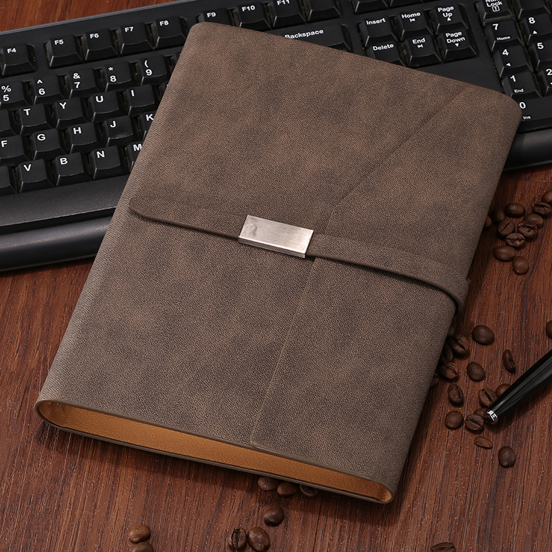 SFENG 814 South Korea A5 Loose leaf Notebook Business Notebook Leather Cover 1PCS 2018 fashion business notebook business loose leaf notebook a5 notebook with calculator multi functional loose leaf