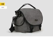 F16728 A1242 S Size 29*22*19cm Professional Canvas SLR Outdoor Aslant Digital Camera Bag