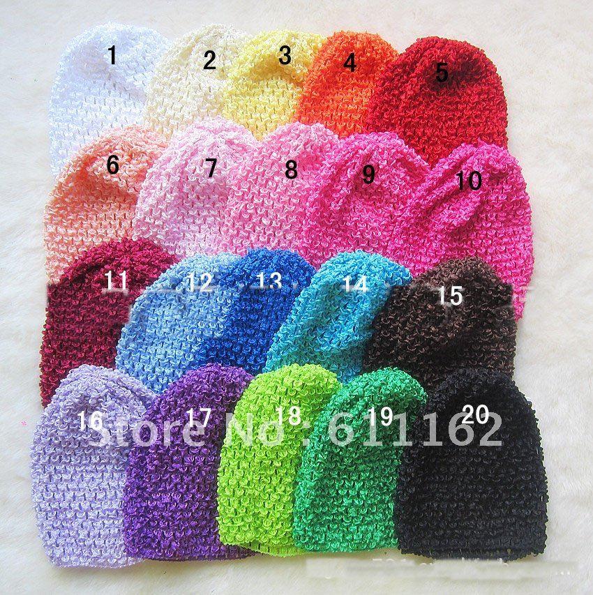 84 шт. детские вязаные вафельные шапочки вязаные шапочки Детские шапочки смешанные цвета bhjnbij