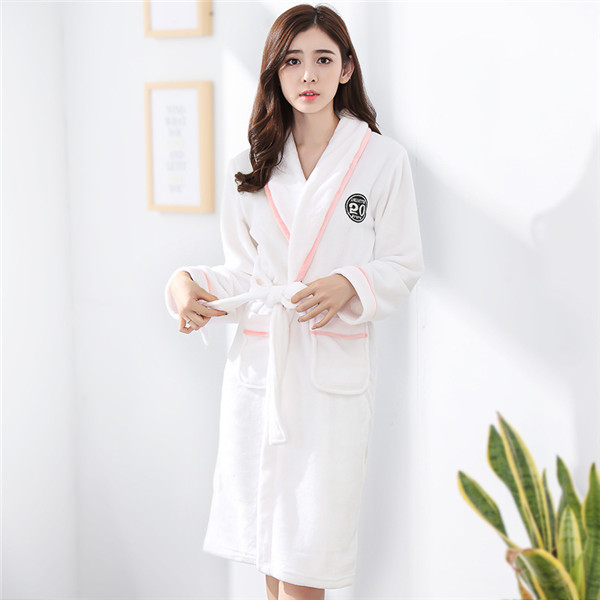 dcf31afa8b Dropwow New Arrival Chinese Female Coral Fleece Robe Kimono Gown ...
