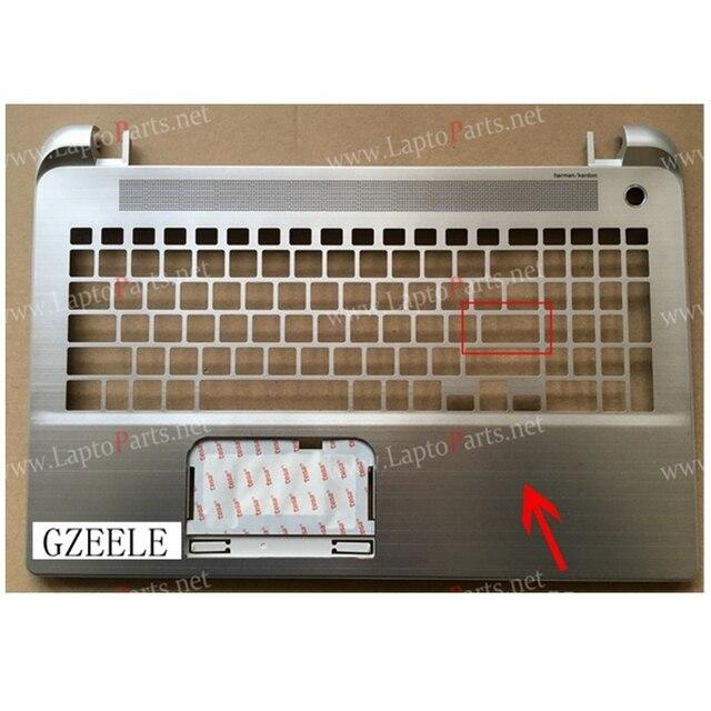 НОВЫЙ топ чехол Для TOSHIBA L50-B L55-B S55T-B Cas Серебро TELBLN-PC001-003A10 верхней Крышки случая Ноутбук Тачпад Верхний Регистр