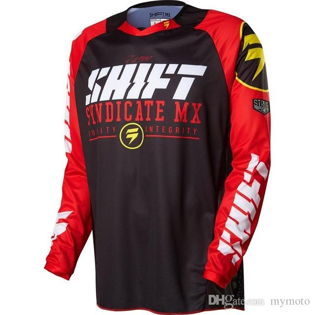 2018 Riding Tops Motocross Jerseys Cycling mens long sleeve shirt mountain bike motocross mx cycling dh downhill jersey