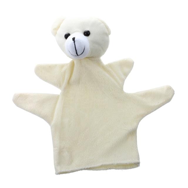 Bebé niño lindo Zoo Animal Farm mano del guante del calcetín ...