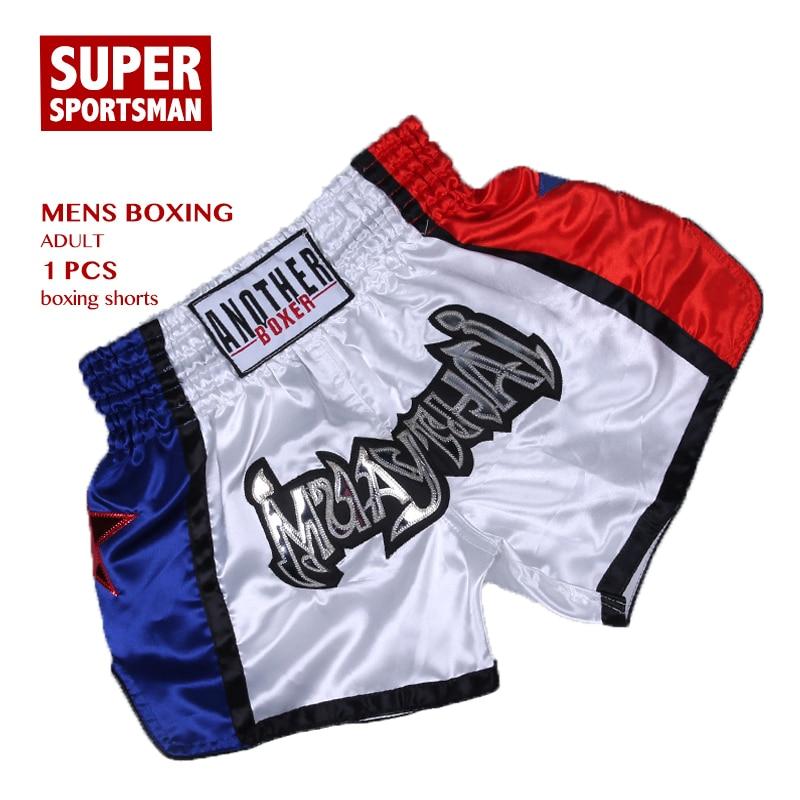 Fitness & Body Building Friendly New Products Man Mma Shorts Sanda Fighting Gym Muay Thai Free Kick Pants Male Sports Training Pants Boxing Trunks