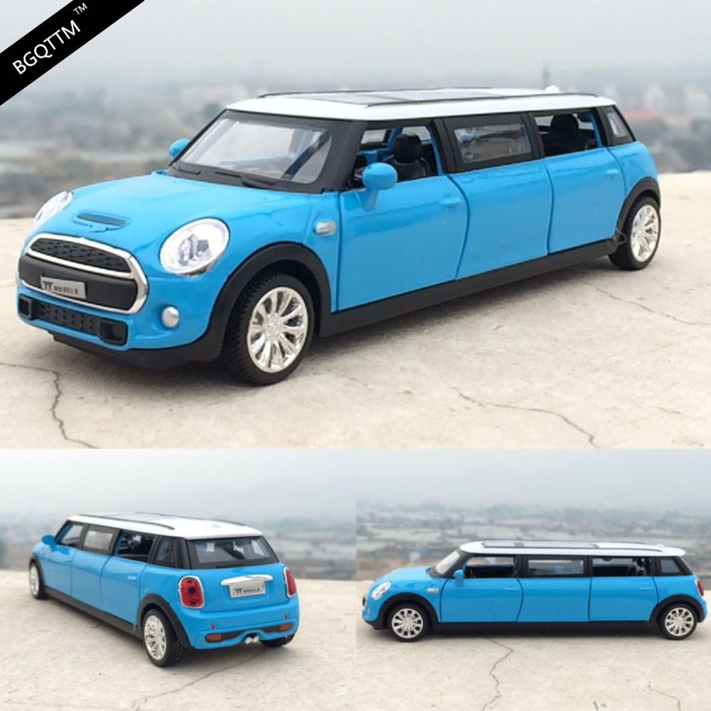 1:36 Kids Toys Extended Limousine Metal Toy Cars Diecast