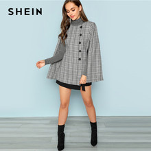 f14709cc61f SHEIN-Black -and-White-Streetwear-Weekend-Casual-Button-Front-Plaid-Print-Coat-2018 -Autumn-Elegant-Workwear.jpg 220x220q90.jpg