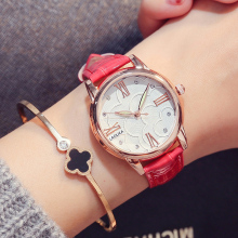 Luxury Brand Women Watches Leisure fashion Leather Quartz Ladies Diamond Dress watch Female gift Relogio Feminino brand women watch fashion leather thin belt quartz watch ladies luxury bracelet watches female clock relogio feminino joyl
