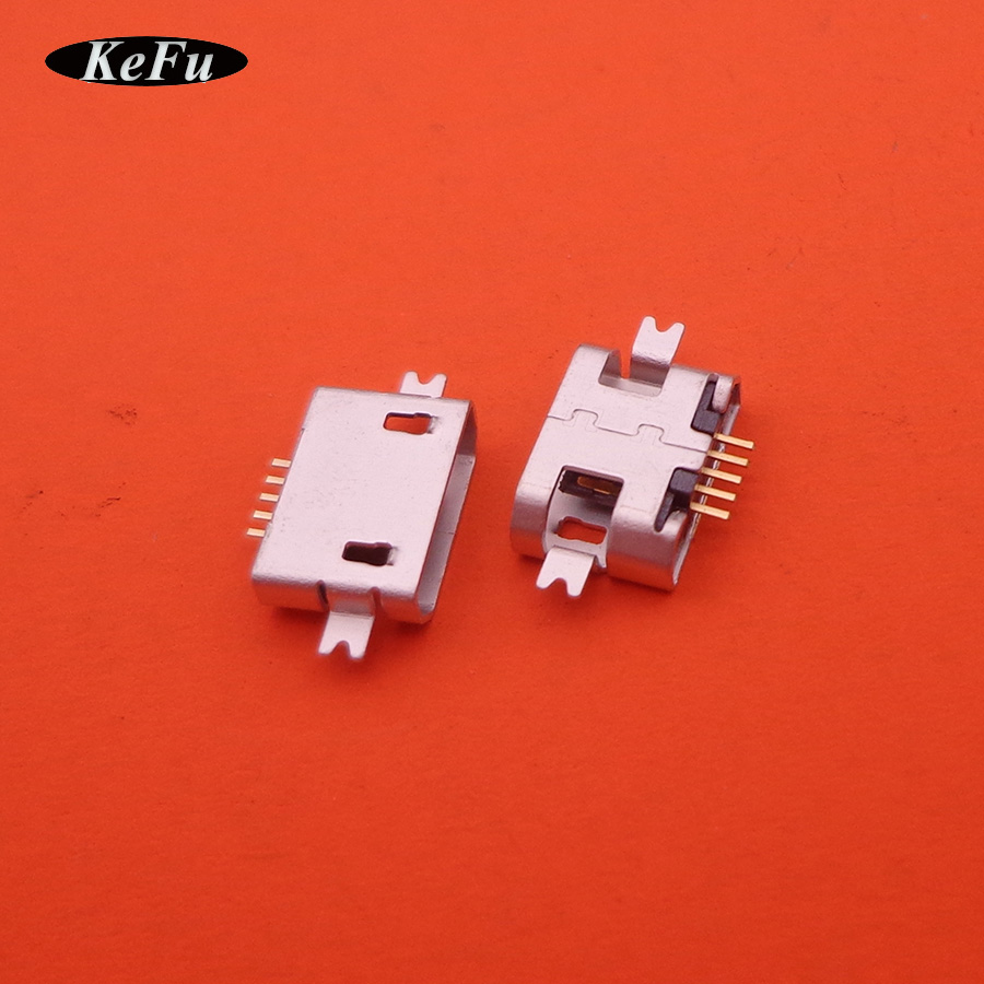 500pcs lot micro mini usb jack socket connector charging port replacement repair female 5p 5 pin