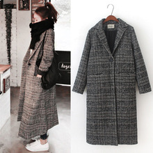 Women's Long Coat Indoor outdoor Women's Lapel Wool Blend Longline Winter Fall Winter Warm Coat Overcoat