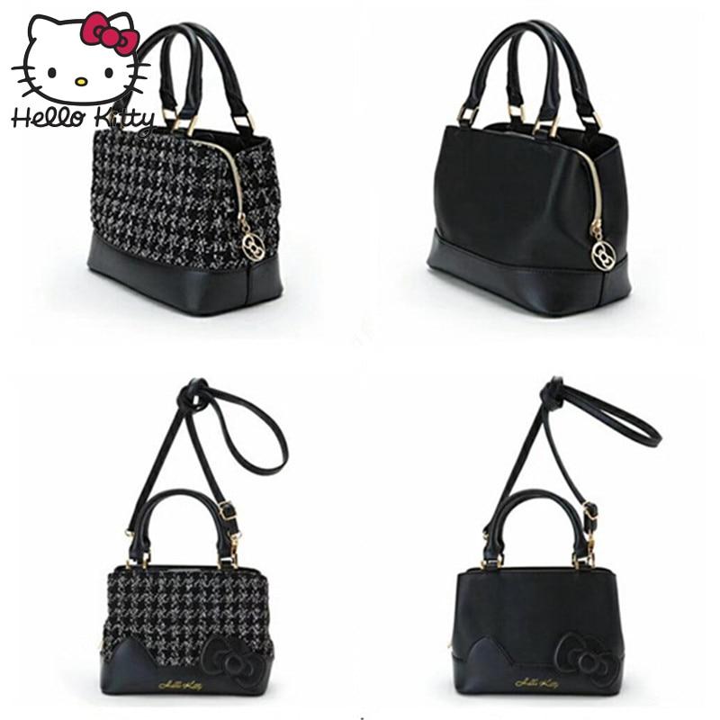 Hello Kitty 2019 sac sacs à main mode unique épaule diagonale sac belle filles Shopping femmes cosmétique voyage en peluche sac à dos KT