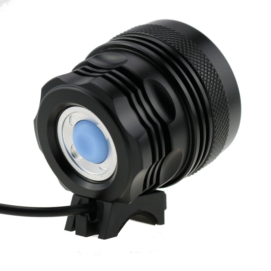 20000LM 8x XML T6 LED MTB Bicycle Light Bike Headlight Lamp 20000mAh+Laser Light
