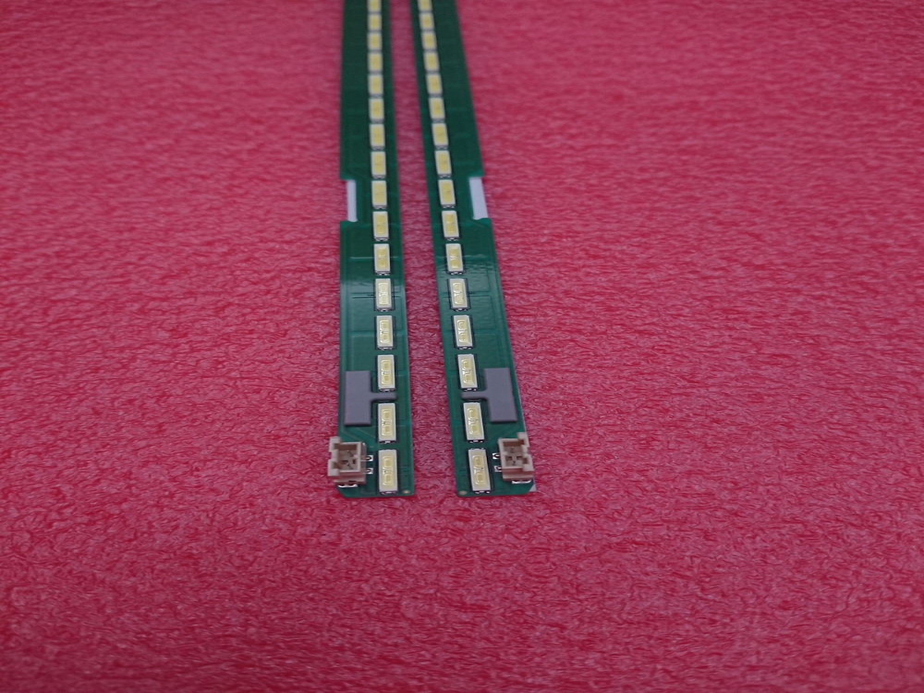 New Kit 2 PCS 60LED 602mm LED backlight strip for LG 55UF6450 55UH6150 55UF6430 6916L2318A 6916L2319A