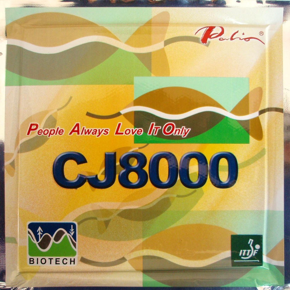 Palio CJ8000 (BIOTECH) Pips-In Table Tennis / PingPong Rubber with Sponge (Hardness: 39-41) 2.2mm biotech biotech multivitamin for women 60