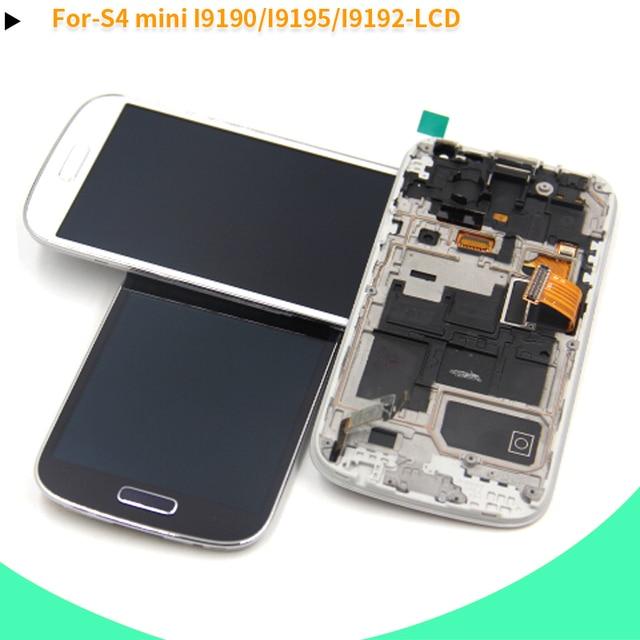 e3242822431 Compatible para Samsung S4 mini Galaxy S4 mini GT-i9195 i9190 i9192 pantalla  LCD digitalizador