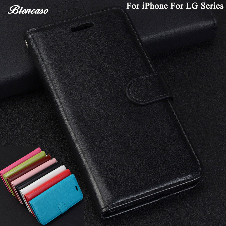 Case For iPhone SE Leather Wallet Flip Cover For LG K3 K4 K8 K10 2017 US110 M160 LV1 M200N US215 X300 LV3 LV5 M250 K20 Plus B82