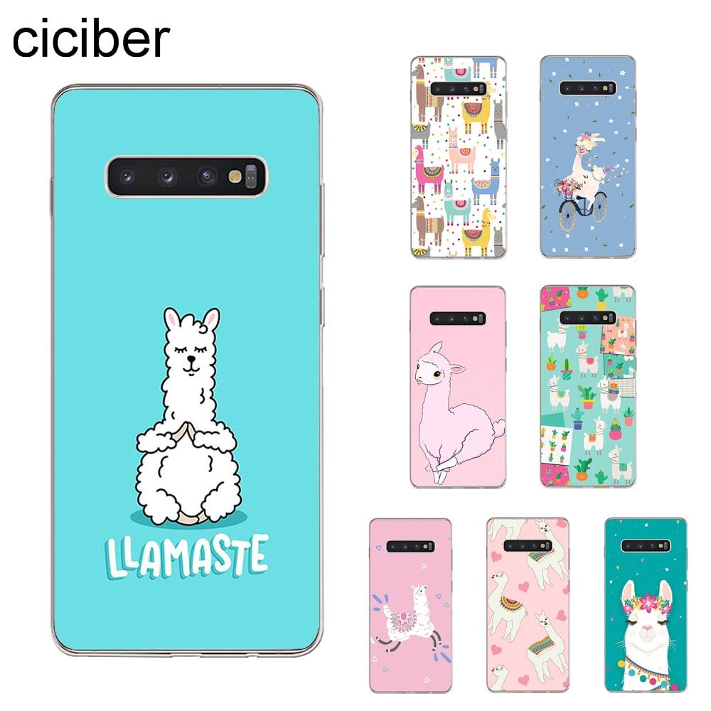 Ciciber Alpaca-Cover Phone-Cases Llama S10e-Lite Mini Samsung Galaxy Cute Animals Edge-Plus