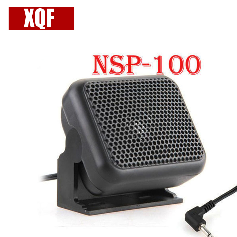 XQF Mini Externe Lautsprecher Mikrofon NSP-100 für Kenwood Yaesu ICOM Schinkenradios