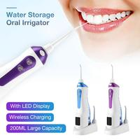 Waterpulse V400 200ml Cordless Oral Irrigator Portable Irrigators Water Flosser Travel Massage Clean Flossing Dental Irrigator