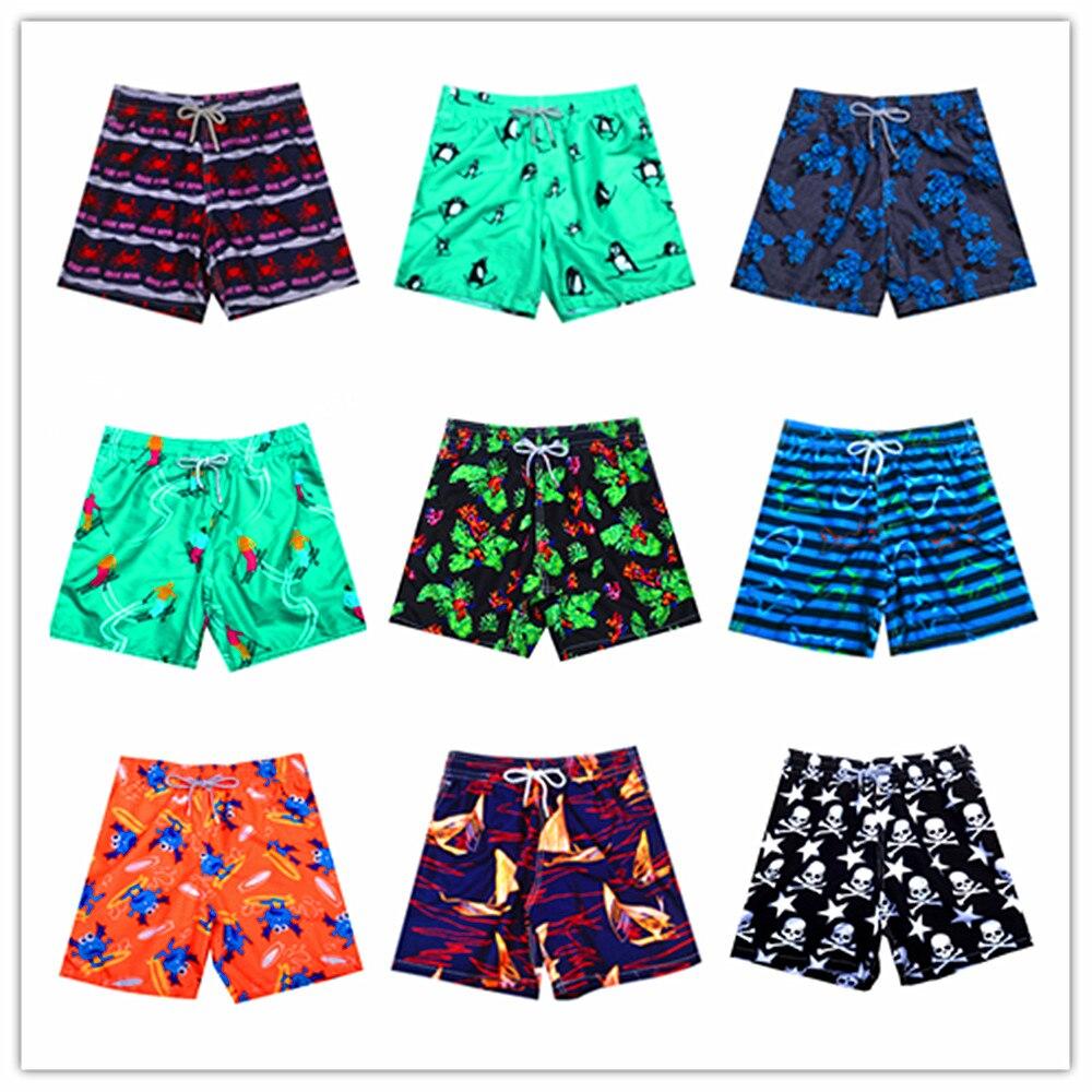 Summer brand BREVILE PULLQUIN men   board     shorts   turtle sexy   short   men trunks male swimwear   shorts   100% quick dry men's beach wear