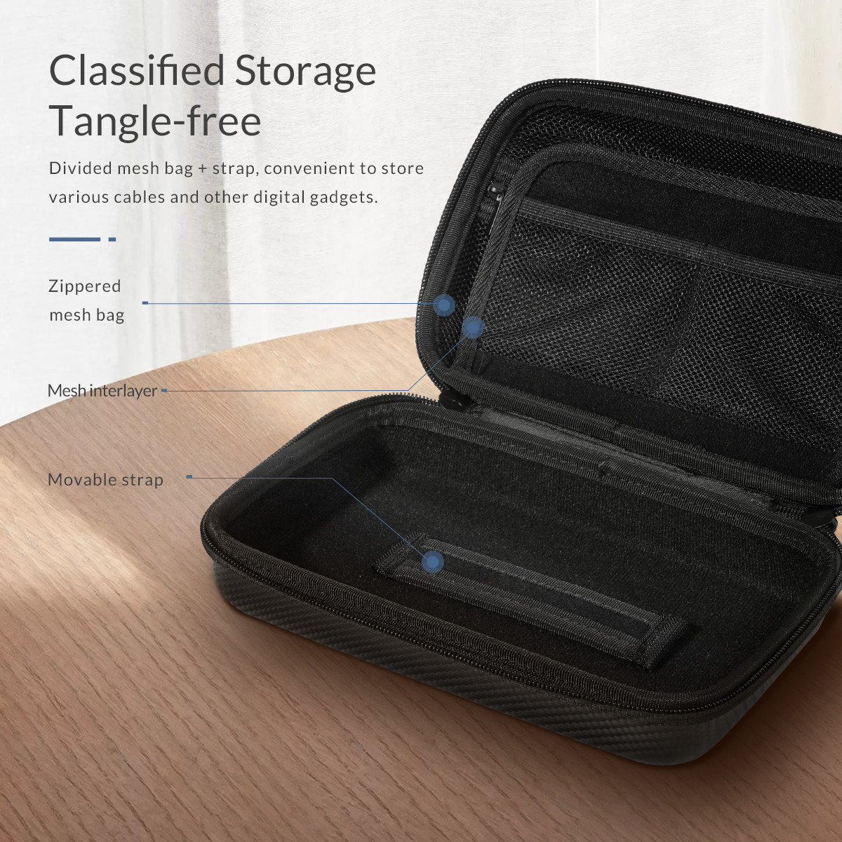cheapest USB Drive Organizer Electronics Accessories Case   Hard Drive Bag HDD bag Mini PC tablet mouse headsets heardphone gaming device