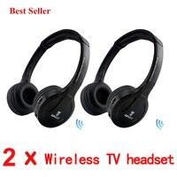 Bingle B616 5in1 Wireless Headphone Earphone HiFi Monitor FM DJ MIC For PC TV DVD Audio