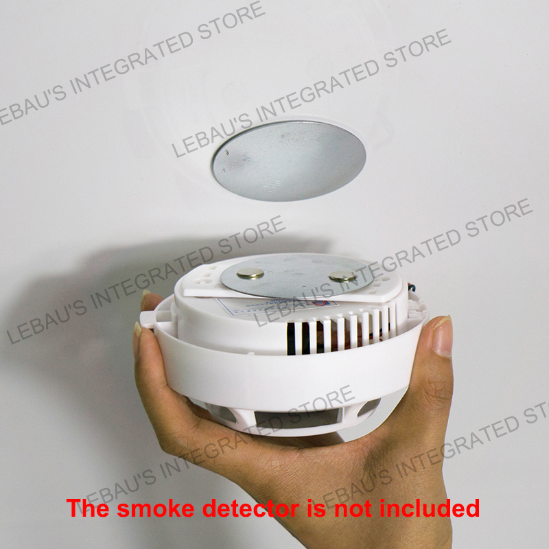 Fire Alarm Detector Magnet Independent Smoke Alarm Sensor Magnet Smoke Detector Tickers Home Office Security Smoke Alarm Magnet
