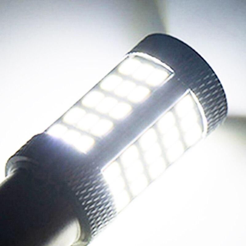 WTS 4pcs 1156 BA15S 66SMD P21W LED R5W Bulbs Car Driving Turn Signal Lights tail Backup Lamp Reverse Parking 6000K White Red