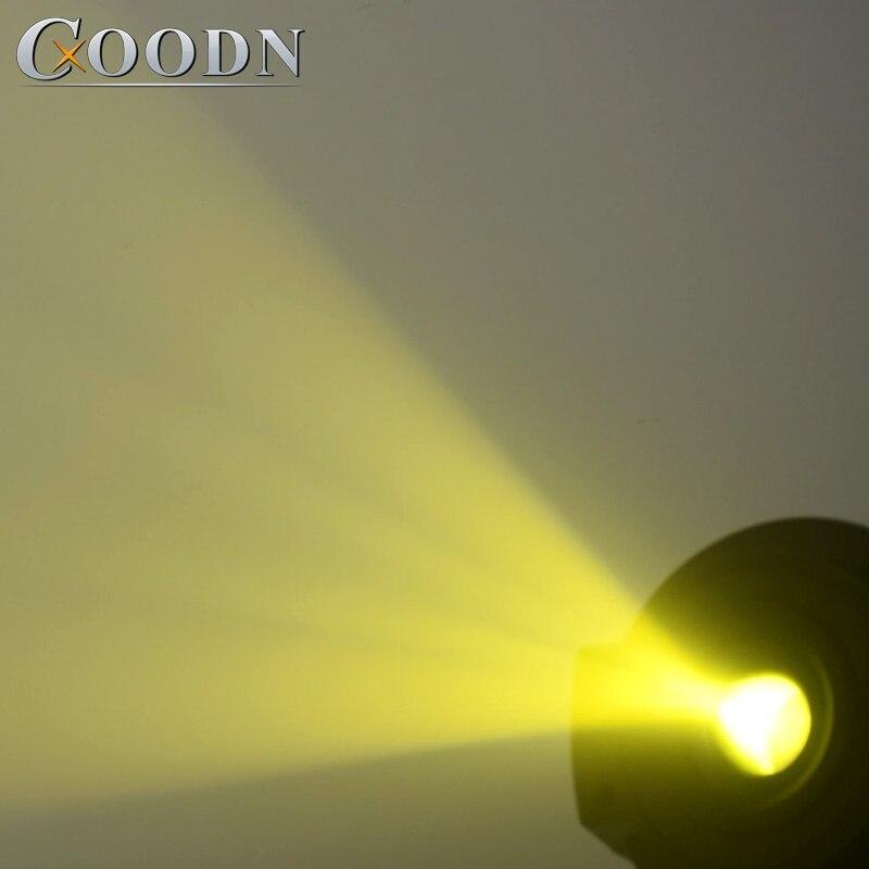 Lyre Spot LED orientable lumière 90 W Gobo avec 3 prisme de visage pour DJ scène théâtre Disco discothèque - 6