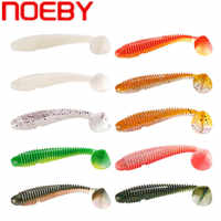 Noeby isca macia 4cm 5cm 7cm 9.5cm 12cm swimbait isca de pesca suave leurre souple shad wobbler silicone isca truta peixe isca